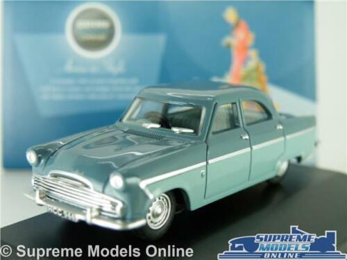 FORD ZODIAC MK2 MODEL CAR BLUE 1:76 SCALE OXFORD 76FZ001 MKII MARK 2 SALOON K8