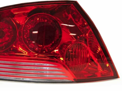 DEPO JDM Evo 7 OE-Style Red//Clear Tail Light For 03-06 Mitsubishi Lancer Evo 8//9