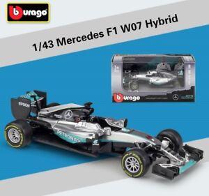 Bburago 1 43 Mercedes Amg Petronas F1 W07 Hybrid 44 Lewis Hamilton