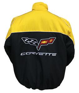 CORVETTE-C6-YELLOW-BLACK-JACKET