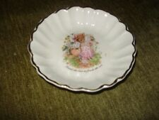 Vintage Crown Devon pin tray dish S Fielding and Co, field mouse design