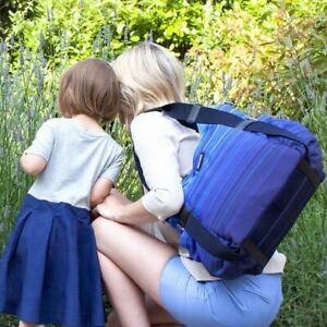 Storksak Tania Bee Gradient Tote Bag Blue, Baby Nappy Diaper Bag DISCONTINUED