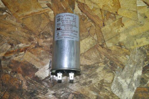 CAPACTIOR CBB65A-1CQC0202001185 E 185318 C22.2 No.190 en60252 450vac 50//60hz NOS
