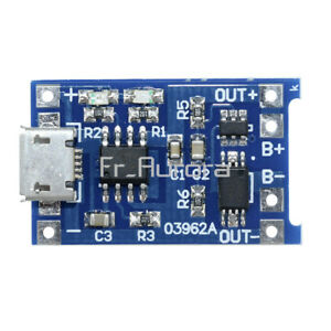 2PCS-5V-Micro-USB-1A-18650-Lithium-Battery-Charging-Board-Charger-Module