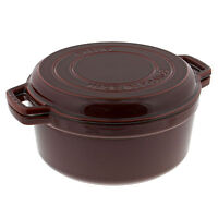 Staub Cast Iron 7-qt Braise & Grill - Brick Red on sale