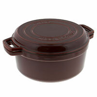 Staub Cast Iron 7-qt Braise & Grill - Brick Red on sale