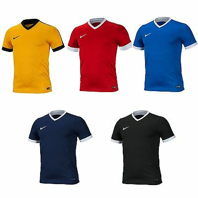 Nike Strike IV Short Sleeve Jersey AUTHENTIC Dri Fit Football Shirts 725892