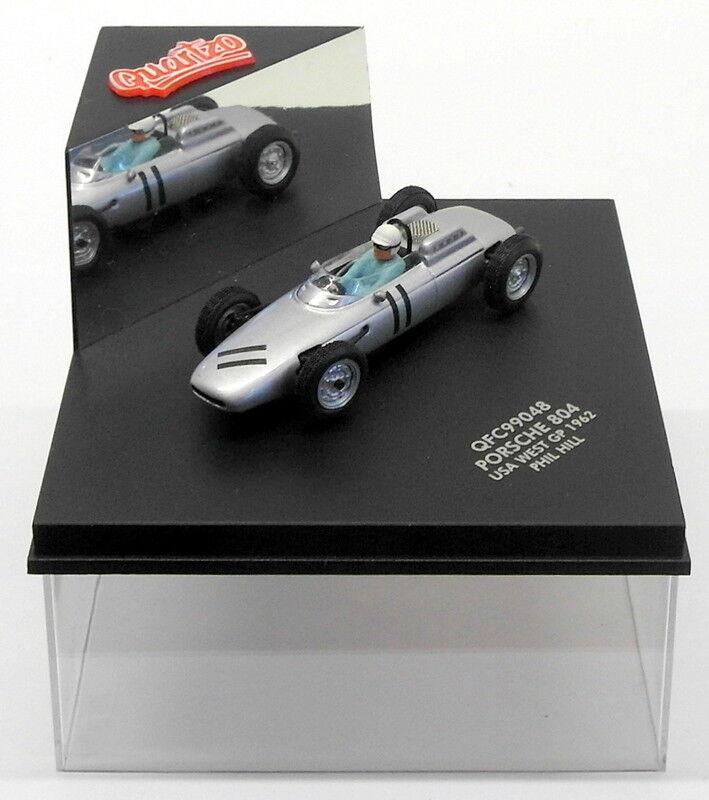 Quartzo 1 43 Scale QFC99048 - Porsche 804 USA West GP 1962 -  11 P.Hill  | Ausgezeichnet