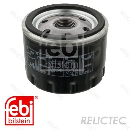 Single Replaces ADM52107S,ADC42118 Genuine OE Blue Print OIL FILTER ADM52107