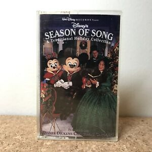 Walt Disney Records Season of Song Traditional Holiday Collection Cassette Tape