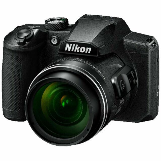 NIKON Coolpix B600 Bridgekamera Schwarz, 60x opt. Zoom, WLAN HH