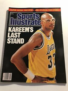 1989-Sports-Illustrated-LOS-ANGELES-Lakers-KAREEM-ABDUL-JABBAR-NewsStand-No-Lab