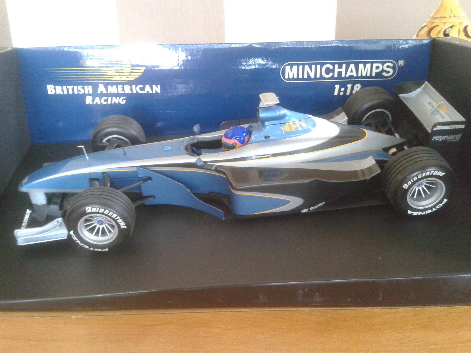 F1 Miniature Bar 01 Supertec Jacques Villeneuve 1999