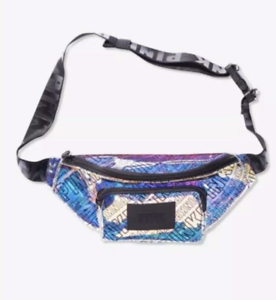 9add194907a5 Details about NWT VICTORIA'S SECRET PINK HOLOGRAPHIC IRIDESCENT WAIST HIP  BAG FANNY PACK O/S