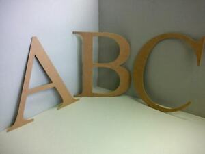 Details About Extra Large Mdf Wooden Letters Numbers Alphabet Letters Numbers 25mm Thick