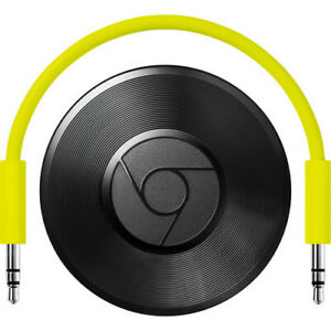 Google-Chromecast-Audio-Media-Streamer-Black