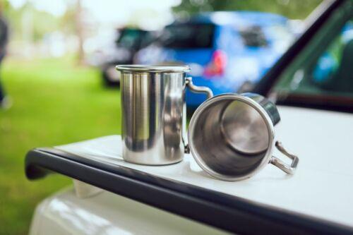 "Vauxhall Nova GSi SR SRi 3/"" Rolled Tip Stainless Exhaust Mug Cup"