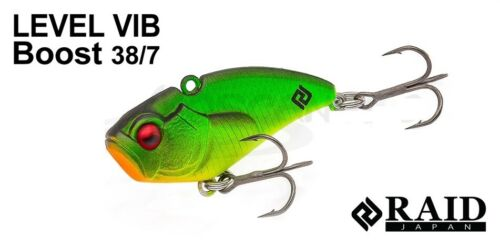 Fishing lures Raid Japan Vib Boost 38//7 original assortment of colors