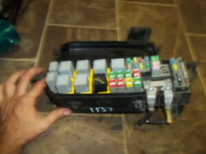 2005 2006 2007 ford escape mercury mariner fusebox fuse. Black Bedroom Furniture Sets. Home Design Ideas
