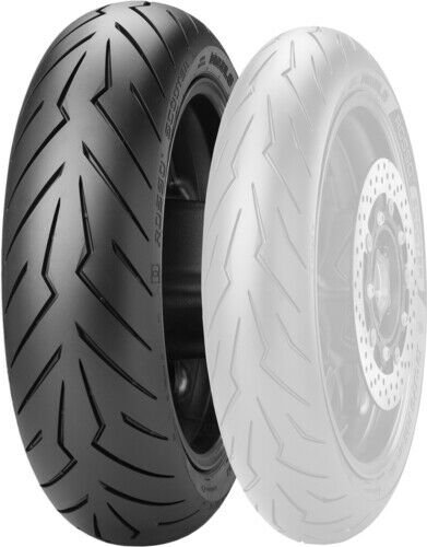 Pirelli Diablo Rosso Scooter Tire 160//60R15F Rear 2769400 Scooter 15 0340-0813