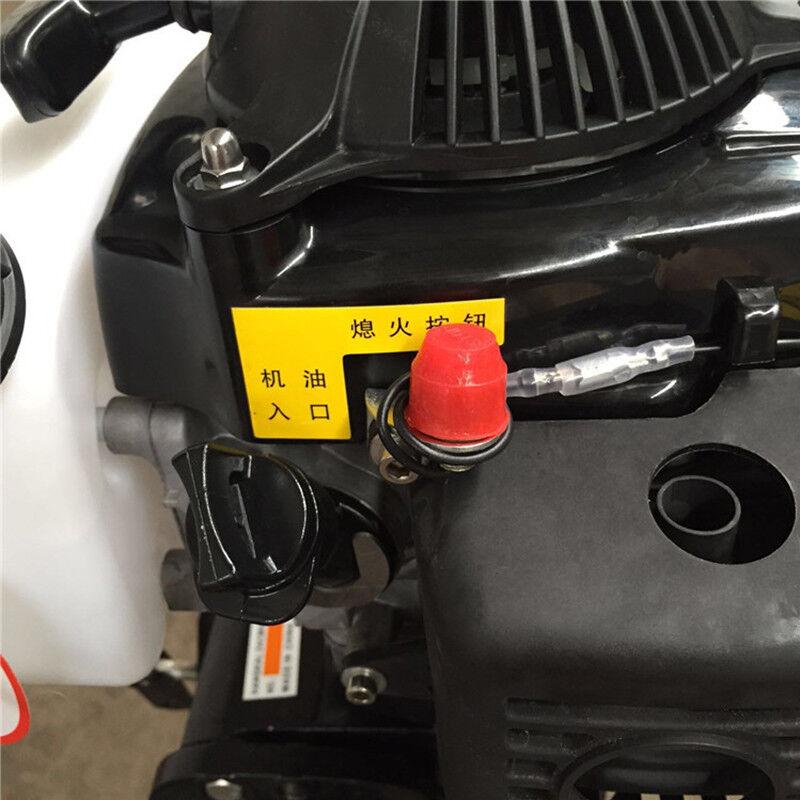 NEU 4-Takt 4HP 52CC Außenborder Motor 52CC 4HP SchlauchStiefel Motor Luftkühlsystem 40cm DE 001ba6