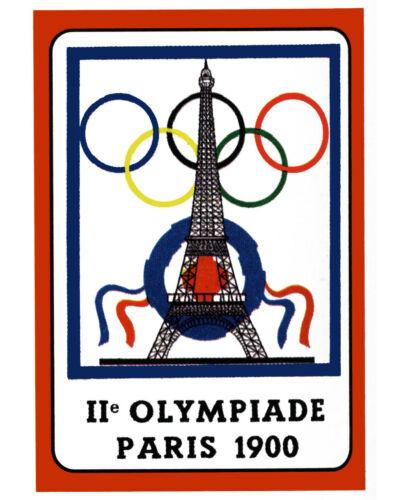 8 x 10 Color Photo 1900 Paris Olympics  Poster