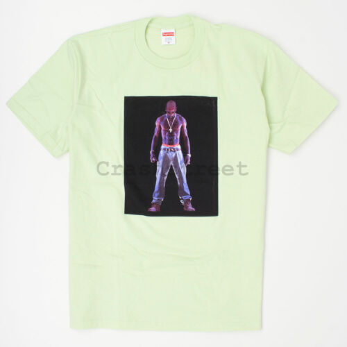 Supreme SS20 Tupac Hologram Tee box t-shirt camp sweatshirt logo hat cap Mint