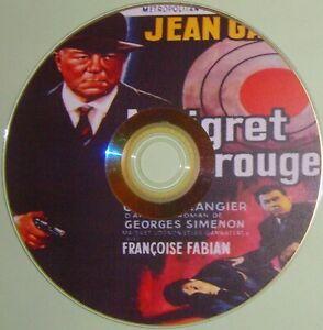 WORLD CRIME / NOIR 123: MAIGRET VOIT ROUGE / MAIGRET SEES RED (1963) Fra