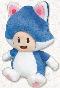 Super Mario Toad Cat Version Plush Peluche 21 cm. MULTIPLAYER
