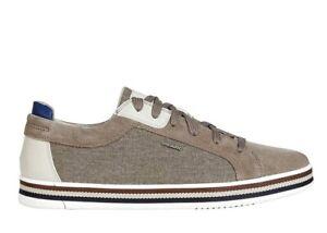Scarpe-da-uomo-Geox-Eolo-U028RA-casual-sportive-basse-sneakers-estive