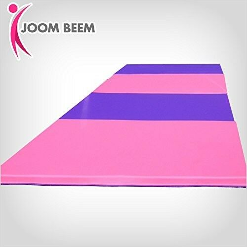 8 X4 X2 Thick Folding Panel Gymnastics Mat Pink Purple