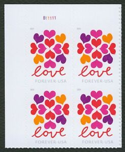#5339 Amour : Hearts Blossom,plaque Noir [b11111 Ul ],excellent État Any 4 = CoûT ModéRé