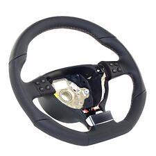 MFA volante deportivo de cuero aplanada perforada para VW Golf 5 GT GTI Touran Tiguan 5n