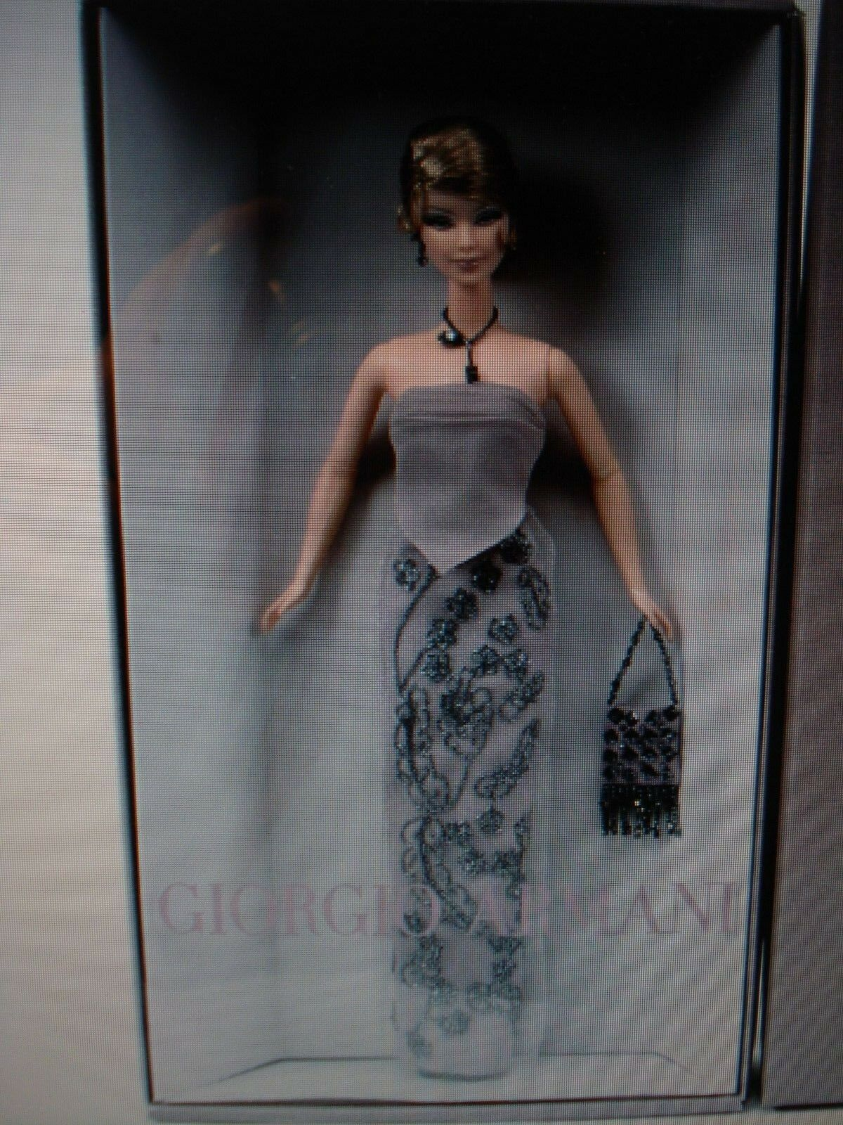 BELLISSIMA bambola di marca - 2003 EDIZIONE LIMITATA Giorgio ARMANI BARBIE DOLL