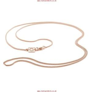OAK-Ladies-Chain-Rose-Gold-Statement-Necklace-18ct-Gold-Vermeil-18-039-039