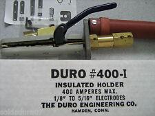 HARD ENGINEERING Co 400-I Welding ELelectrodes Holder Insulated 400 Amp Made USA