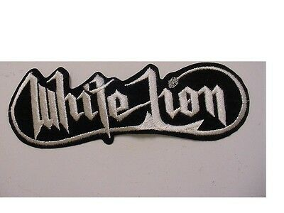 """OFFICIAL LICENSED 10/"""" set of 2 LARGE Warrant Rock Concert Band IRON ON Patch"""