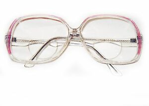 a4e2887389a Image is loading Oversize-Bifocal-Reading-Glasses-Polished-Hot-Pink-Line-