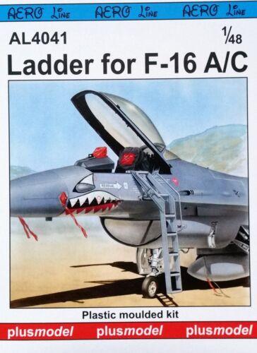 Leiter für F-16A//C in 1:48 PLUS MODEL AL4041 Ladder