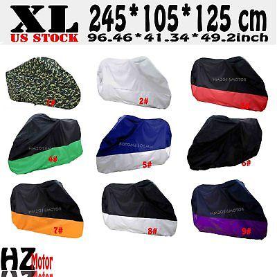 XL Motorcycle Cover Green For Honda CB CBF 500 550 600 650 750 900 1000 1100 CB1