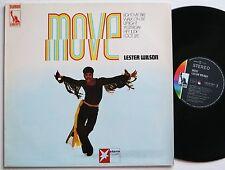 LESTER WILSON MOVE ORIG LIBERTY / STERN MUSIK 60S SOUL LP VG++/MINT-