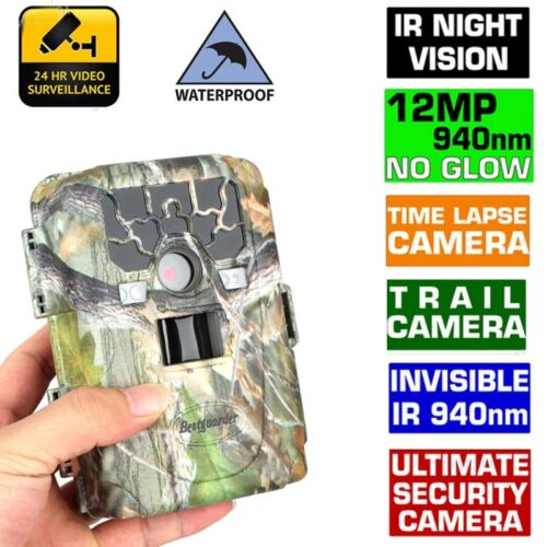 1080P SG880V No Glow 12MP Mini Infrared IR Digital Trail Game Hunting Camera ZM