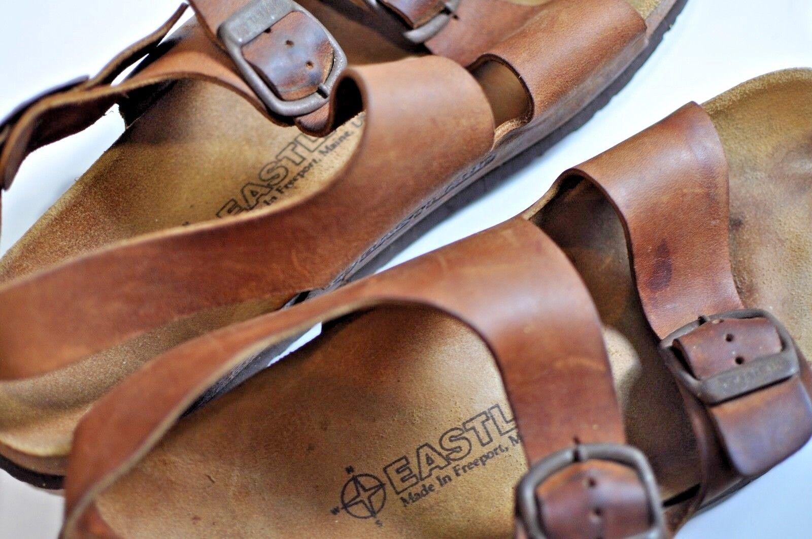 Vintage Eastland Uomo pelle sandals size 12 made in USA