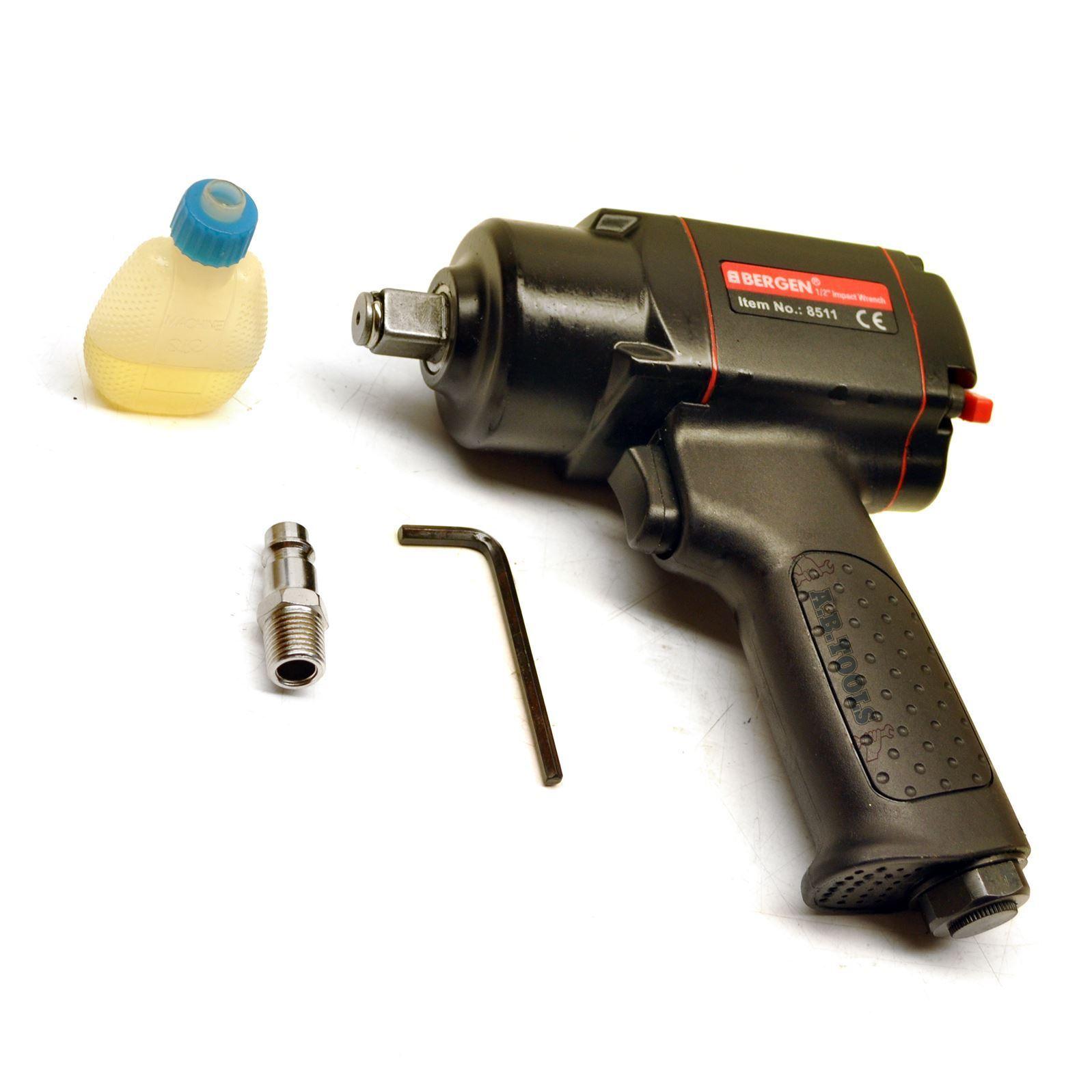 1 2  drive air impact wrench   gun mini 280 ft lbs  380Nm BERGEN AT803