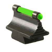 Green Fiber Optic Front Sight .41 High Fits 3/8 Dovetail