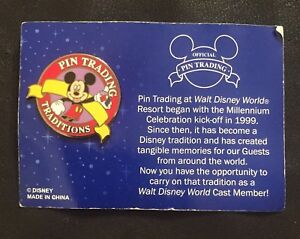 Details about Disney Pin 35578 WDW - Cast Member Exclusive Pin Trading  Traditions Mickey Mouse