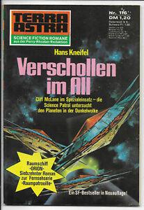 Terra Astra Nr.116 Raumpatrouille Orion - Z1-2 Science Fiction PABEL ROMANHEFT