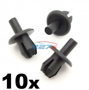 10x-Vauxhall-Astra-Front-Wheel-Arch-Liner-Clips-Inner-Wing-Splashguard-Clips