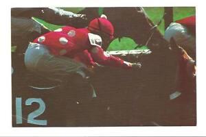 SARATOGA-SPRINGS-NY-Horse-Racing-Track-Jockey-Vtg-PC