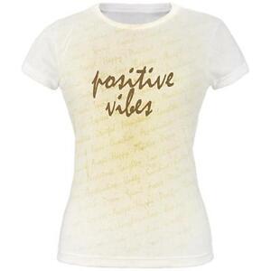 All Over Inspirational Shirt Words Juniors T Vibes Positive affHx1S